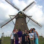 Day 12 - Bikes, windmills and piglets