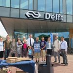 Day 13 - Distributing Bibles in Delft